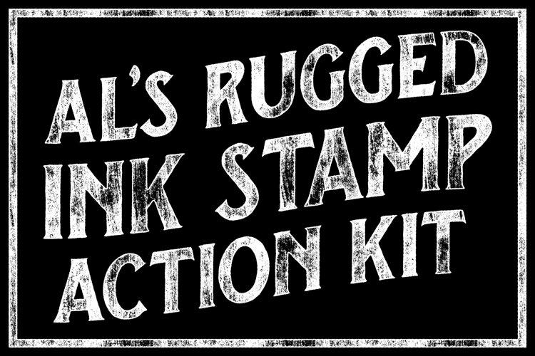 ALs Rugged Ink Stamp Action Kit
