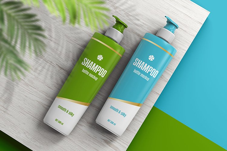 Shampoo Bottle Mockup example image 1