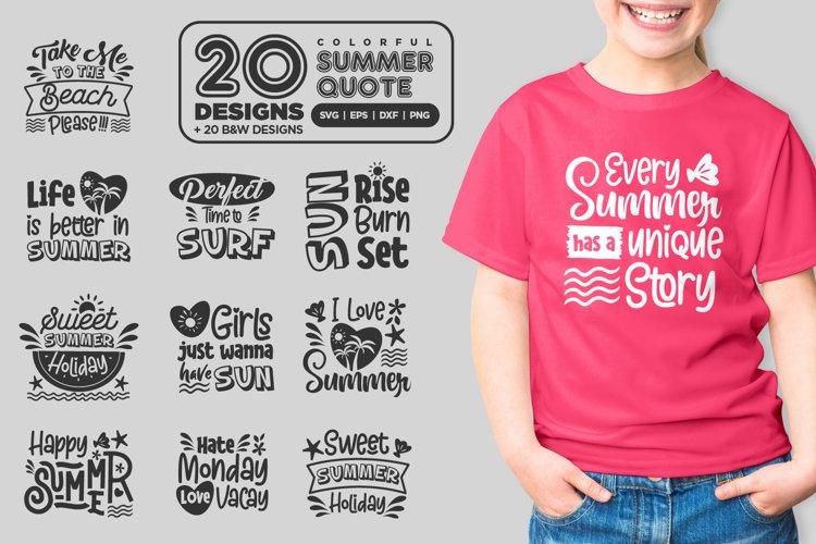 Summer Quote Bundle