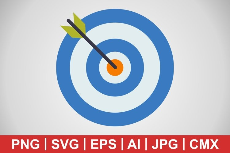 Vector target Icon example image 1