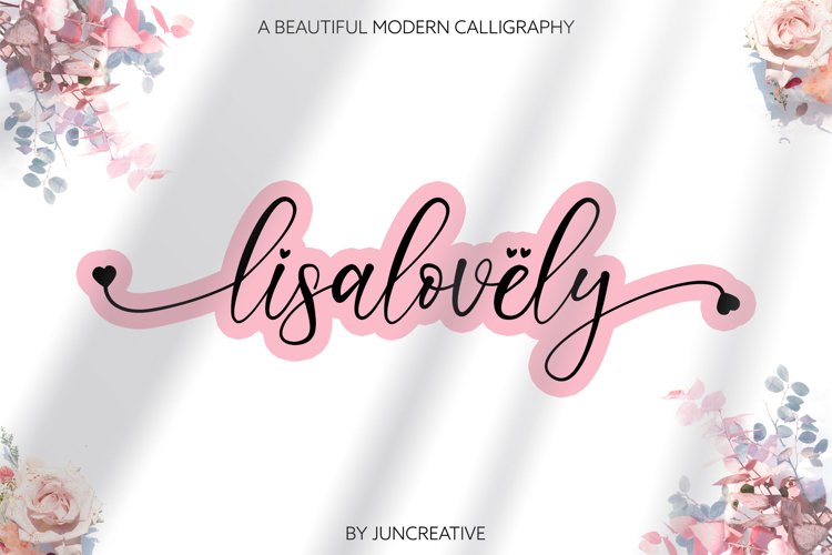 Lisalovely Script example image 1