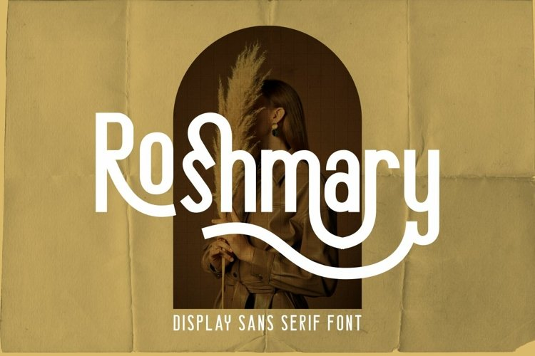 Roshmary - Display Sans Serif Font