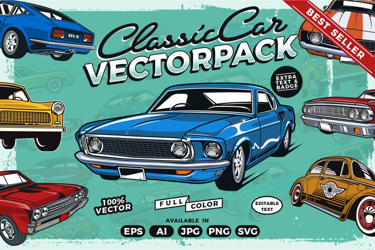 Best seller,Classic Car Collection