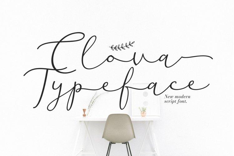 Web Font Clova example image 1