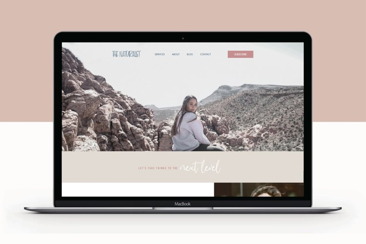 Wix Website Template | The Naturalist example image 1