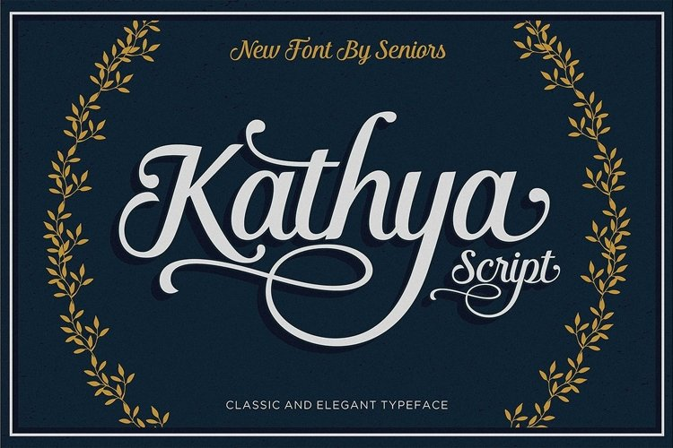 Kathya Script example image 1