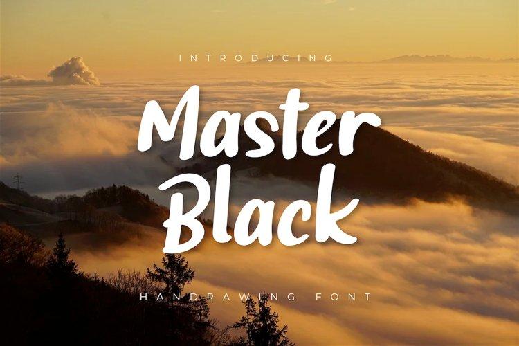 Master Black example image 1