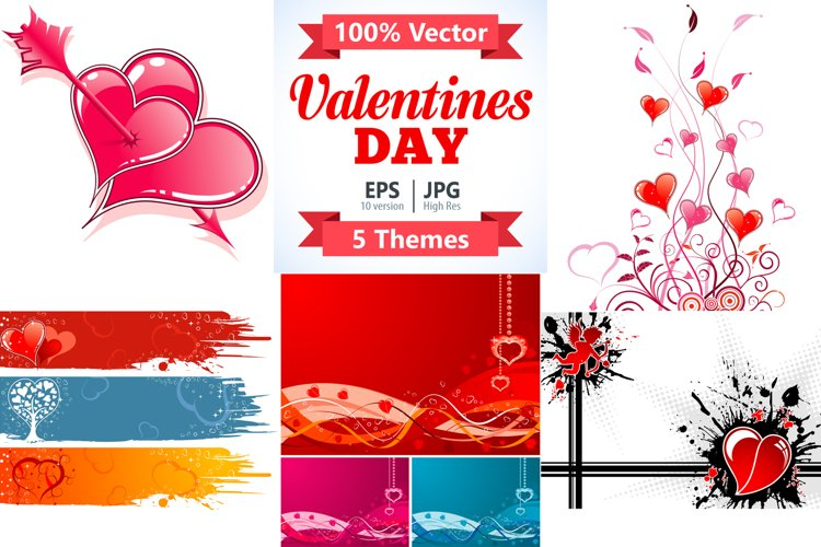 Happy Valentines Day Concepts example image 1