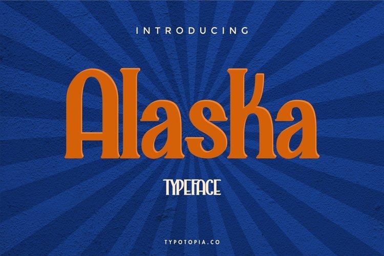 Alaska Typeface example image 1