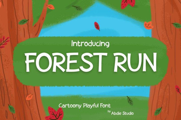Forest Run - Cartoony Playful example image 1