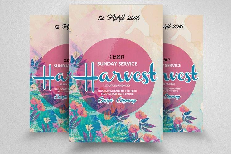 Autumn Fall Harvest Festival Flyer example image 1