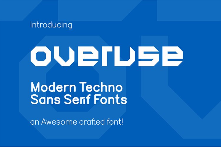 Overuse Font