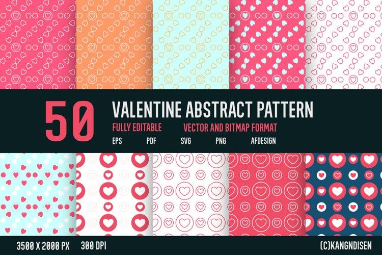 VALENTINE ABSTRACT PATTERN V-5