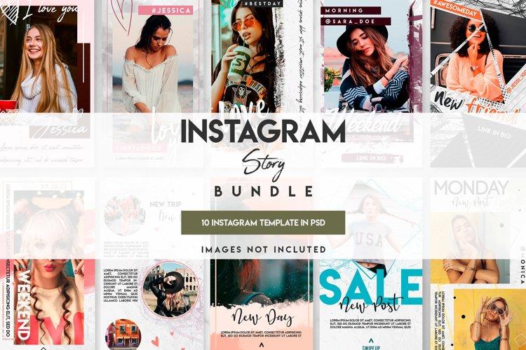 10 unique template instagram story