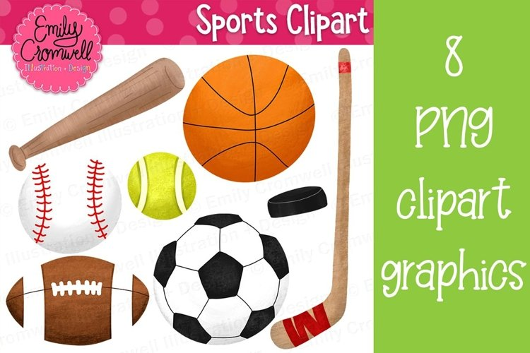 Sports Clipart example image 1