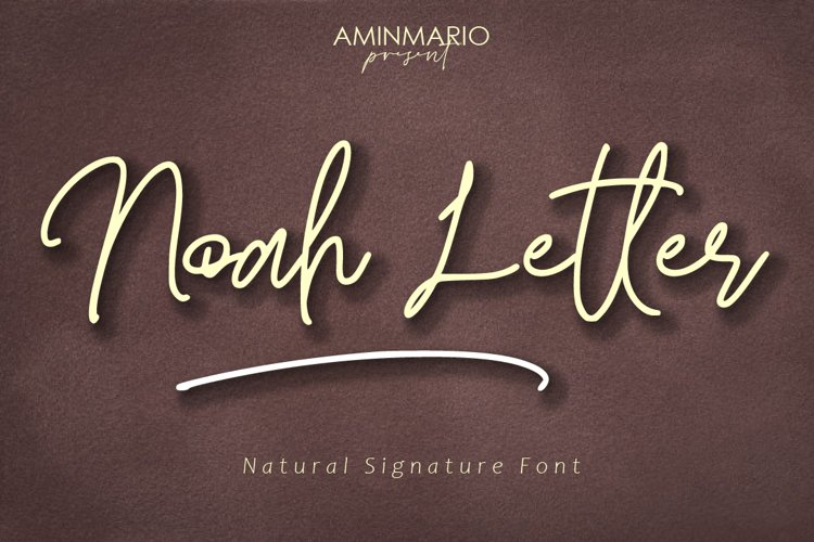 Noah Letter example image 1