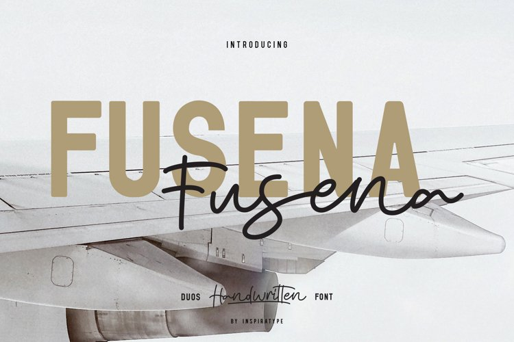 Fusena - Duos Handwritten Font example image 1