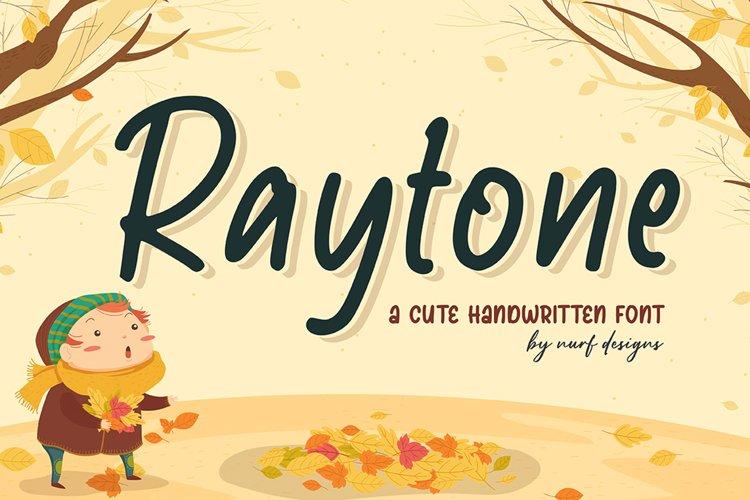 Raytone - Web Font example image 1