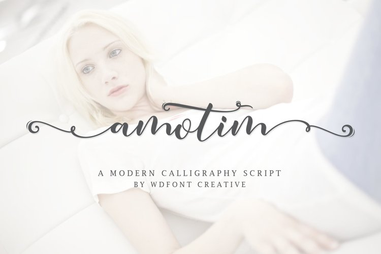 Amotim | New Calligraphy example image 1