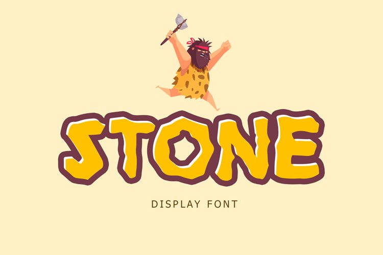 Stone Display Font example image 1