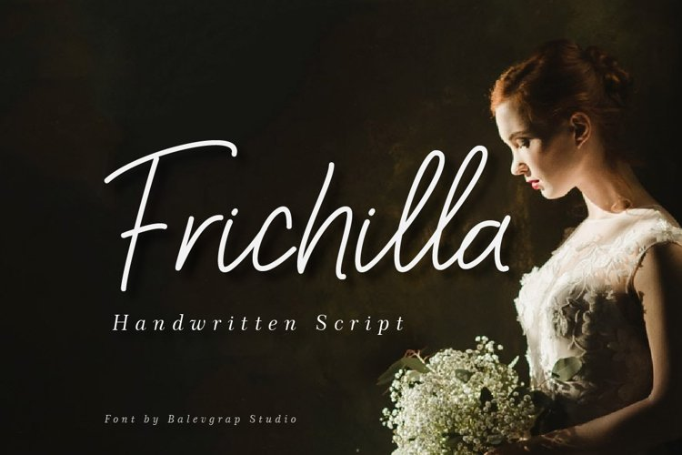 Frichilla Handwritten Script Font example image 1