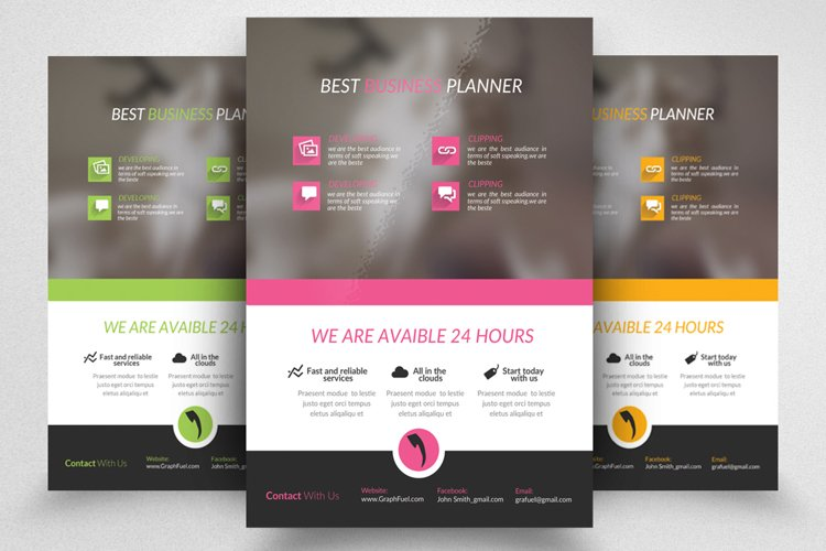 Best Business Planner Flyer example image 1