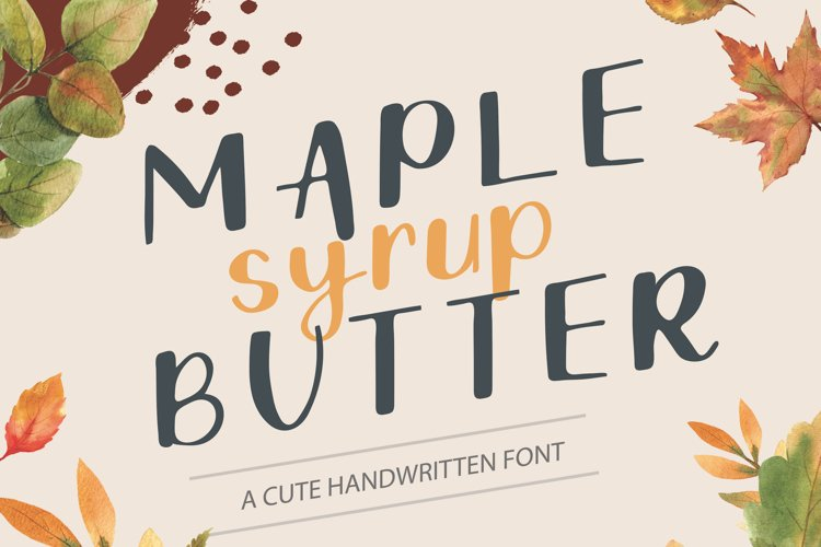 Maple Butter example image 1
