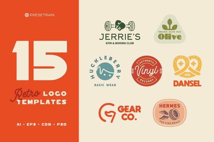 15 Retro Logo Templates and Badges
