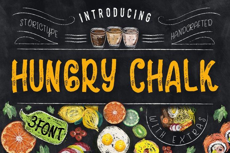 HungryChalk Typeface example image 1