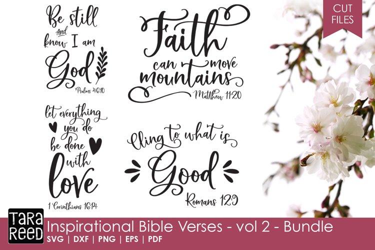 Inspirational Bible Verses - volume 2 - Bundle example image 1