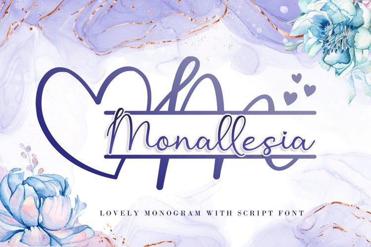 Monallesia Monogram example image 1