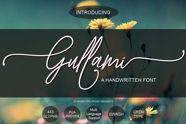 Gullami Rice Script example image 1