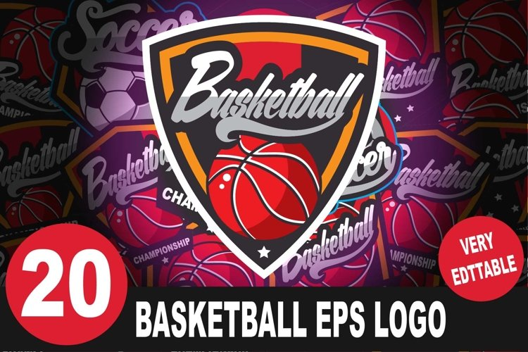 Basketball Logo Bundle example image 1