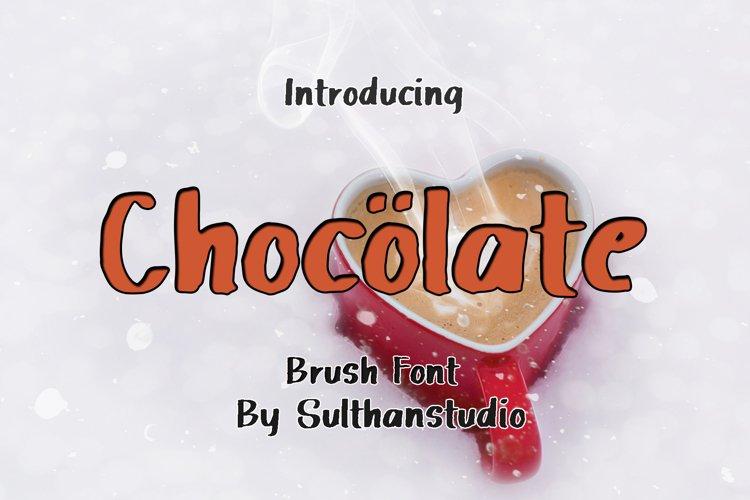 Chocolate Brush example image 1