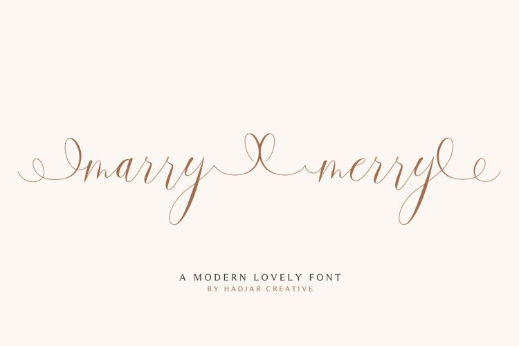 marry merry example image 1