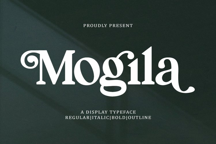 Mogila Display Font example image 1