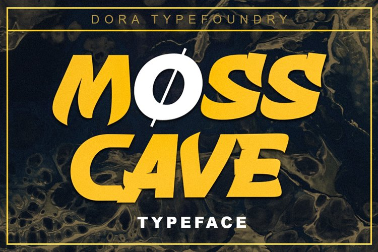 Mosscave Typeface example image 1
