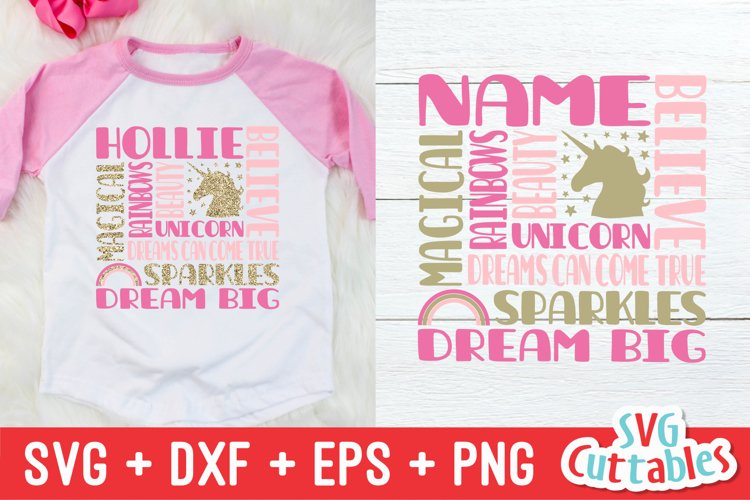 Unicorn SVG | Unicorn Subway Art | Shirt Design