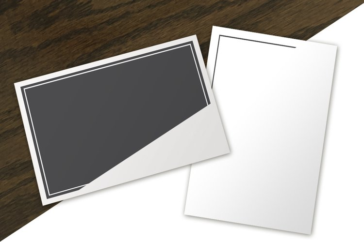 Postcard Mockup : Top-View Collection