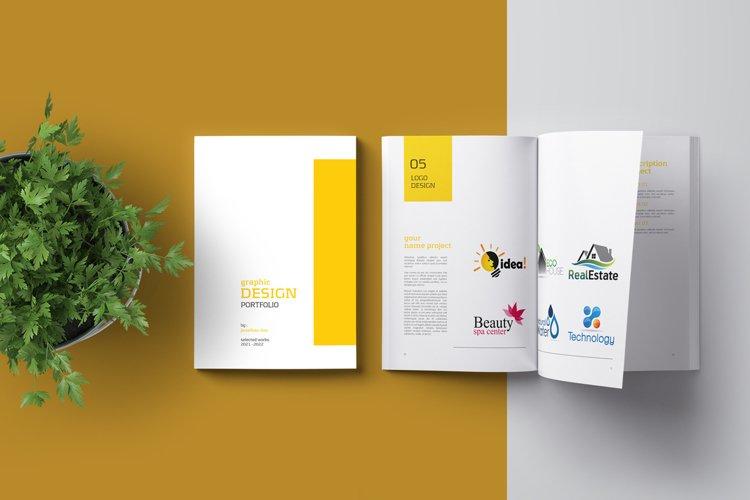 Graphic Design Portfolio Template example image 1