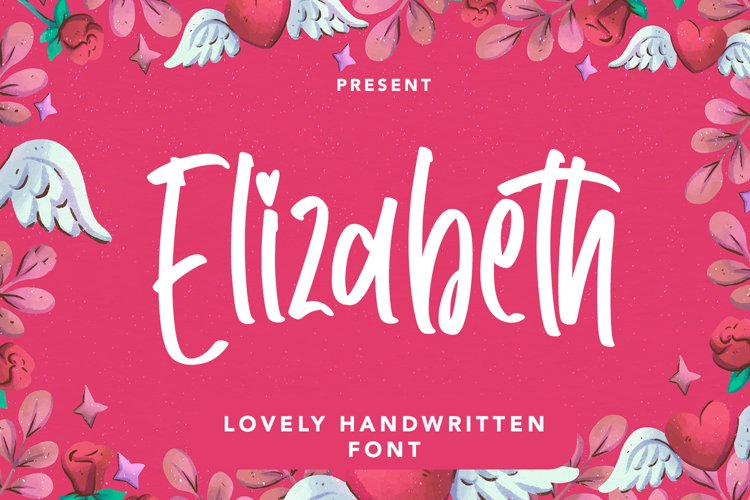 Elizabeth - Lovely Handwritten Font example image 1