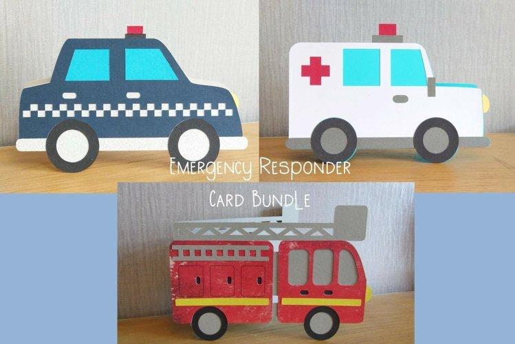 First Responders Card Bundle - SVG