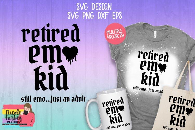Retired Emo Kid SVG