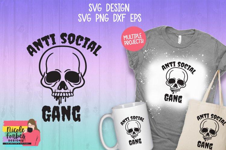 Anti Social Gang SVG