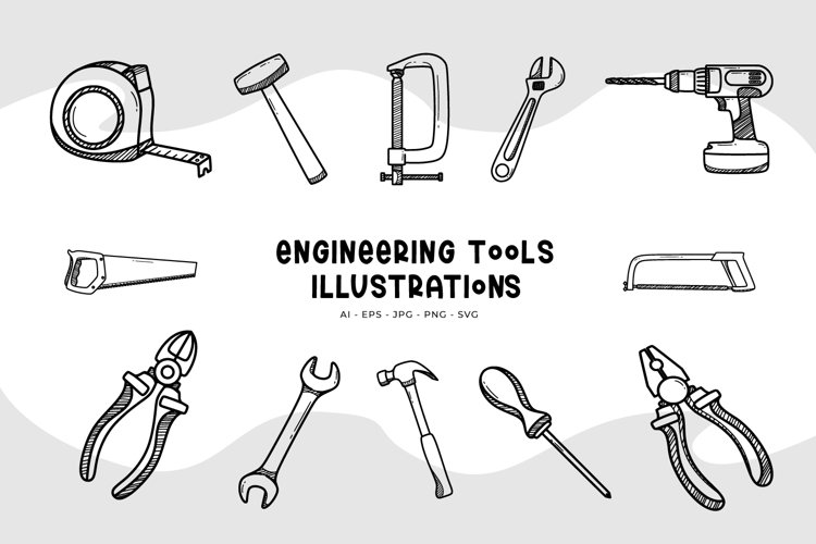 Engineering Tools Illustrations
