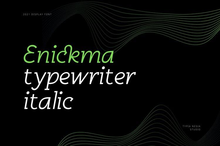 Enickma example image 1