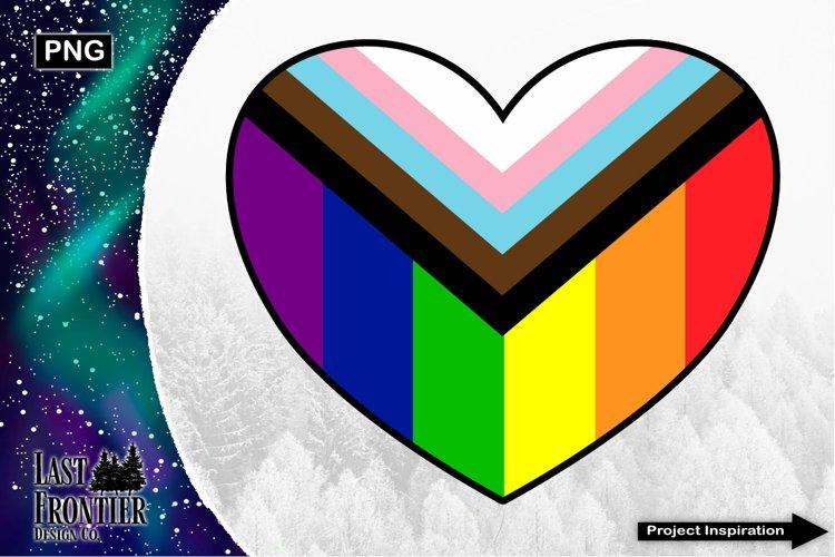 Equality Heart Sublimation Design