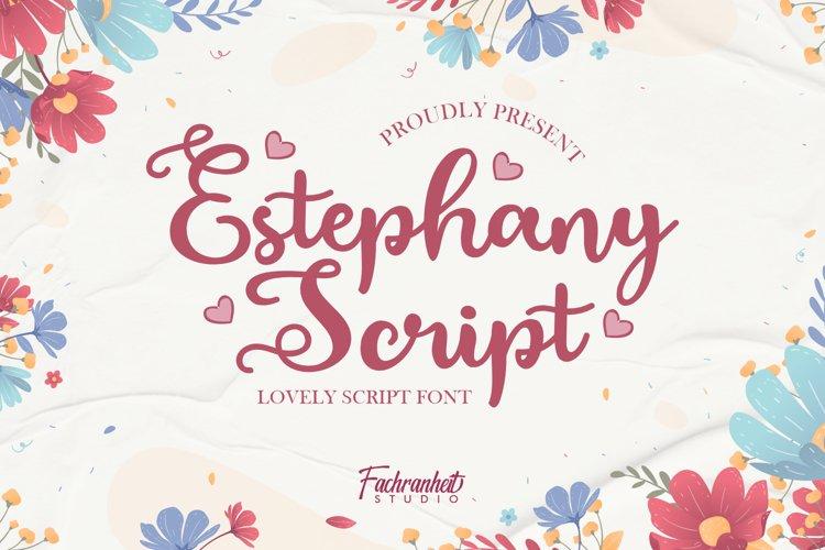 Estephany Script example image 1
