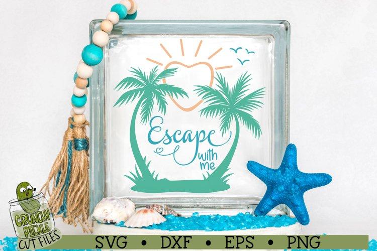 Escape With Me Beach SVG File