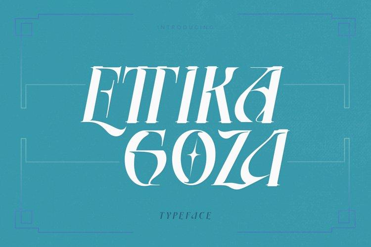 Ettika Goza example image 1